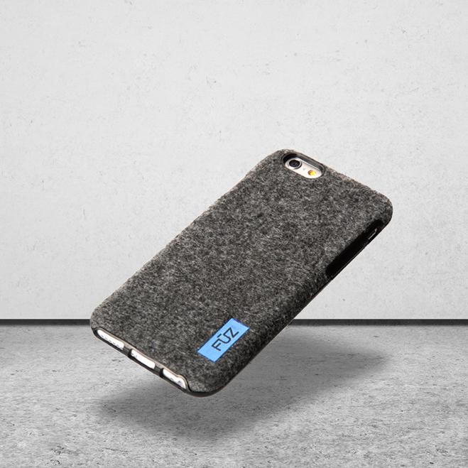 wool felt phone case